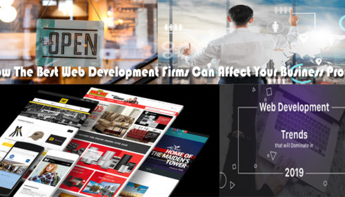 How The Best Web Development Firms Can Affect Your Business Profile
